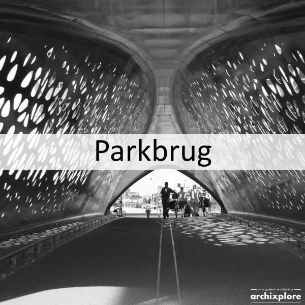 Parkbrug – gate to Antwerp