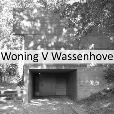 Woning Van Wassenhove door Juliaan Lampens