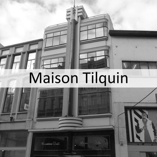 Maison Tilquin – an Art Deco pearl on the Meir