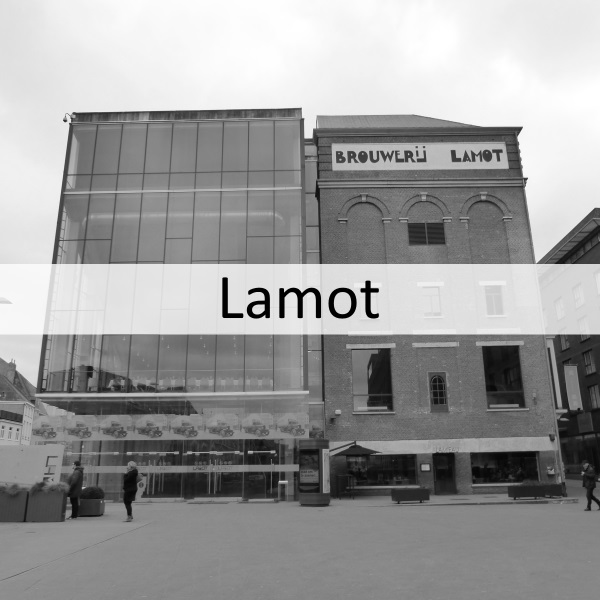 Lamot event space and conference center in Mechelen