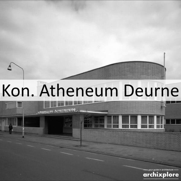 Koninklijk Atheneum Deurne – modernist school