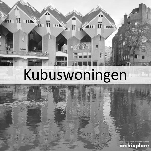 Cube houses Het Blaakse Bos in Rotterdam
