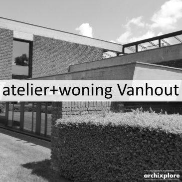 Eigen atelier en woning Vanhout te Turnhout