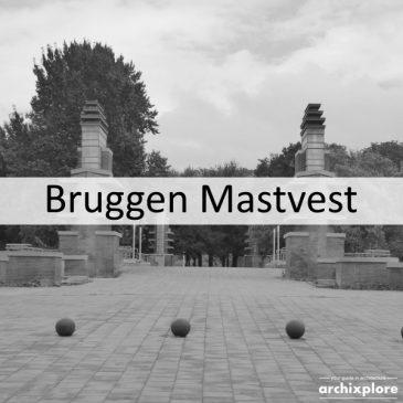 Bruggen over Mastvest in de tentoonstellingswijk