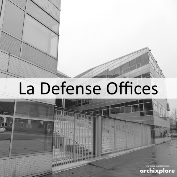La Defense Office – colour in the office