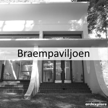 Het Braempaviljoen in het Middelheimmuseum