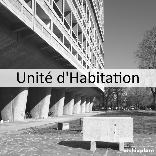Unité d'Habitation – machine for living from Le Corbusier