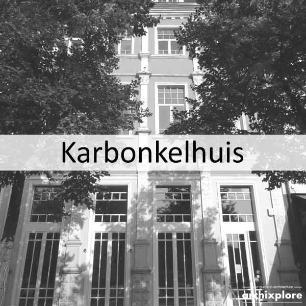 Karbonkelhuis - Groenplaats Antwerpen - titel