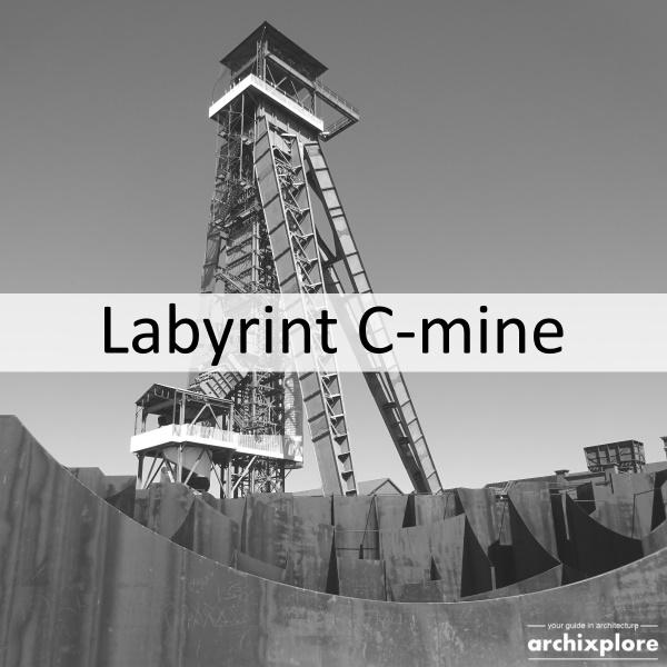 Labyrint C-mine plein - titel