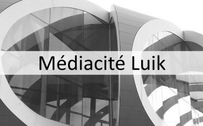 Médiacité te Luik, ontworpen door Ron Arad