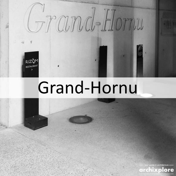 Le Grand Hornu nabij Mons - titel