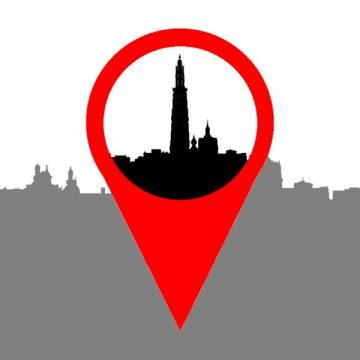 Kaart Antwerpen architectuur - archixplore - logo