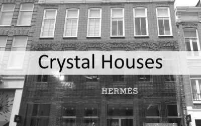 Crystal Houses Amsterdam – glass wall